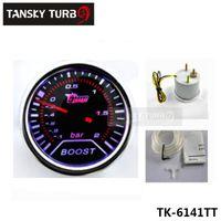 Wholesale Tansky Universal Cars Vehicle Meter Gauge quot mm Turbo Boost Gauge BAR LED auto gauge car meter TK TT