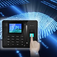 Wholesale LS4G Inches TFT Screen Biometric Fingerprint Attendance Time Clock withTCP IP