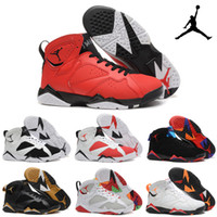 Wholesale Nike Jordan Men s Retro Basketball Shoes Cheap Good Quality AJ7 Men Sports Shoes Discount Sports Shoes Leather Mens Basketball Shoes