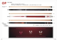 Wholesale Fury Pool Cue OP Series Fury Chna Opera Style Special select Hard Rock Maple shaft