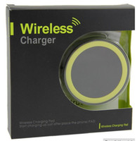 Wholesale Qi Wireless Charger Mini Charge Pad For Samsung Galaxy S3 S4 S5 S6 Note for LG for Nokia iPhone