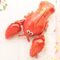 air lobster - Inflator Lobster children air ball balon gas balloon aniversario wedding st birthday party decoration festa infantil