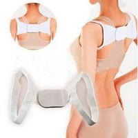 Wholesale Magnetic posture corrector back shoulder support belt adjustable therapy wrap posture corrector belt strap vest unisex correctLJJE132