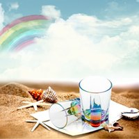 acrylic drinkware - 480ml Romantic Water Bottle Transparent Acrylic Rainbow Refraction Cup Pub House Office Drinkware Coffee Cup