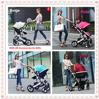 Wholesale Hot Selling Baby Pushchair With Point Harness States For Children Lying Resting Sitting Colors Infant By Accessories