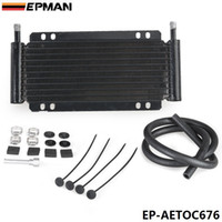 Wholesale EPMAN Racing Car Series Type quot Row Aluminum Plate Fin Transmission Oil Cooler EP AETOC676