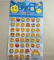 cutting die - 3D Cute Lovely Die Cut Emoji Smile Vinyl Sticker for Ihpone S Plus Tablet Laptop Decor