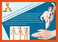 medical equipment - PATENT New Back Pain Relief natural acupuncture needles Medical Equipment Acupuncture Massage Machine acupuncture stimulator pen