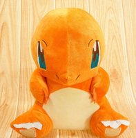 Wholesale 30cm Pocket Monster Plush Toys Charmander Cute Stuffed Toy Doll For Kids Birthday Christmas Gift plush toys
