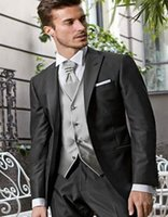 best dress form - Best Man Wedding Dress Black Lapel Peak The Groom Holds The Men For The Prom form groom coat Pants Vest tie