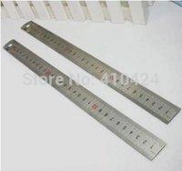 Wholesale 10Pcs cm Ruler Stainless Steel Ruler etched on standard metric rule order lt no track