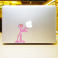 Wholesale The series of The Pink Panthe Creative personality Vinyl Local Decal Sticker Skin for AppleMacBook12 quot air11 quot quot Pro13 quot quot quot Retina13 quot