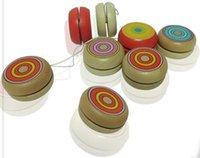 Wholesale The yo yo wooden mini and classic children s toys gift