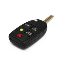 Wholesale Hot sale Flip Key Shell fit for VOLVO S60 S80 V70 XC70 XC90 Button Portable Remote Case Fob New