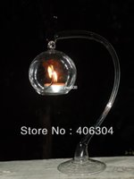 christmas ball glass - cm cm height transparent hanging glass candle holder for tealight christmas clear ball home party decoration