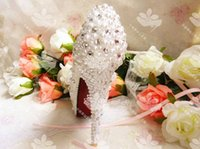Cheap Formal bridal shoes Best Heels High Heel crystal wedding shoes