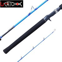 Wholesale 1 m short carbon casting spinning sea fishing lure rod boat rod