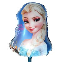 air balloon festival - x40cm classic toys air balloons big globos foil helium elsa festival birthday party princess balloons inflatable big balloons