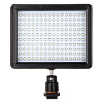 Wholesale W160 LED Video Light Lamp W LM K K Dimmable for Canon Nikon Pentax DSLR Camera Video light