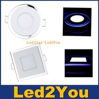 aluminum front panel - 10W W W Led Lights Panel Acryl Glass Led Ceiling Light Angle SMD White Front Light IP20 AC V