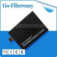 best media converters - SFP Fiber Media Converter Base T to SFP Converter Single Mode sfp fiber media converter LC port Best Shipping