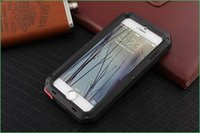 Wholesale Lunatik Taktik Extreme Case Cover Corning Gorilla Glass Aluminum Metal Case Premium Protection for iPhone quot