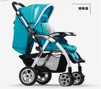 Wholesale only to extreme high European landscape pram super shock absorption buggies children summer and winter car dual purpose baby cart