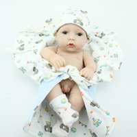 real doll - Hot Small Reborn Doll Handmade Real Looking Vinyl Newborn Baby Dolls Boy Inch
