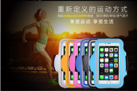 armlets - Mobile Phone Arm Bags Sports Phone Cases Outdoor Running Rubber Armlets Portable Colorful Cell Phone Arm Band Travelling Equip Fitness Bag