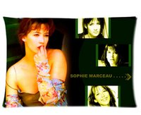 beautiful actress - New Design Elegant One Printed Sophie Marceau Beautiful Actress Pillowcase x30 inch Decorative pillowcase