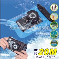Wholesale M Waterproof Digital Camera Case For Nikon Canon Sony OLYMPUS Underwater Dry Bag Pouch Outdoor equipment