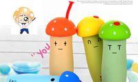 Wholesale RETAILNew Mushroom Water Bottle Kids Cartoon Drinkware Student Cute Cup Kettle Gift Kids Bottle Cartoon