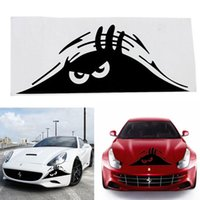 auto graphic - High Quality Funny Peeking Monster Auto Car Walls Windows Sticker Graphic Vinyl Car Decals Car Stickers Accessories car styling