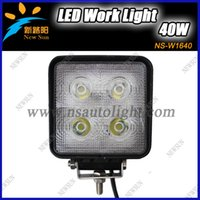 atv trailer kits - 40W cree led off road worklight high lumen trailer lights led Fog light kit for heavy duty machinery x4 car SUV ATV light