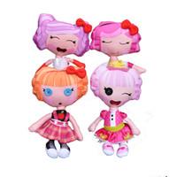 achat en gros de reborn baby-30cm Retail Lalaloopsy en peluche Poupées filles Mode Poupées Jouets bons jouets cadeaux pour enfants Kawaii Cartoon Big Button Yeux Doll Reborn Baby Toy