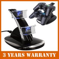 charger dock station stand - Dual USB Charging Desktop Charger Dock Station Stand Holder Cradle for Playstation PS4 Controller GA26B