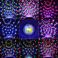 Wholesale LIXADA DMX Channels LED Rotating Strobe RGBPYW Crystal Magic Ball Effect Par Light Disco DJ Stage Stage Lighting