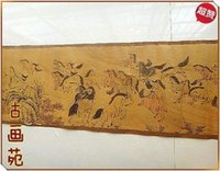 ancient china picture - Chinese Ancient picture silk paper Hundred Horse Scroll painting