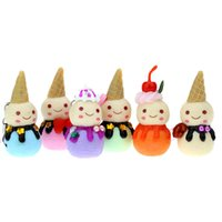 beautiful figurines - 6pcs Beautiful Polymer Clay Drop Pendants Christmas Tree Baubles Decoration Hanging Ornament Snowman Decor Enfeites De Natal order lt no tra