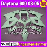 triumph - 7gifts Unpainted Primer Fairing For Triumph Daytona Daytona600 Fairings Bodywork Body