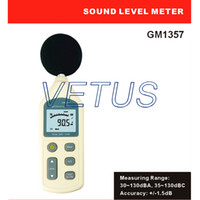 Wholesale digital sound level meter noise meter GM1357 GM with Measuring range dB of hot sale A