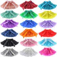 Wholesale Wennikids Baby Girls Chiffon Fluffy Pettiskirts tutu Princess Party Skirts Ballet dance wear M T Colors