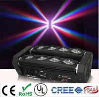 Wholesale RGBW x10W Quad in1 CREE LED moving head beam Spider bar light