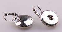 Dangle & Chandelier Bohemian Women's Free shipping New arrival Fashion 1.8-2cm Metal Chunks Snap Button Earring For Women Christmas Jewelry