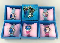 Precio de Gifts-Los niños de los relojes de la historieta de los niños de los relojes de la historieta de los niños miran el regalo encantador lindo de la Navidad de los niños de la señora de la mujer de la muchacha del sistema de regalo de Elissa Anna DHL Free