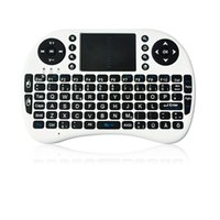 Wholesale Rii I8 Fly Air Mouse Mini Wireless Handheld Keyboard GHz Touchpad Remote Control For M8S MXQ MXIII TV BOX Mini PC