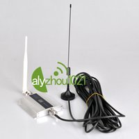 cell phone signal booster - 60dB LCD CDMA MHz Mobile Cell Phone Signal Booster Mini GSM MHz Cellular Repeater Amplifie m Car Magnetic Whip Antenna
