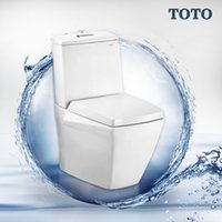 Wholesale Germany Levin Park Building Materials split TOTO toilet CW680B SWN680B toilet Deluxe bath authentic