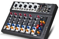 audio mixer effects - F7 USB Mini Audio Mixer Console with USB Built in effect processor Audio Mixer channel mixer sound console v power supply