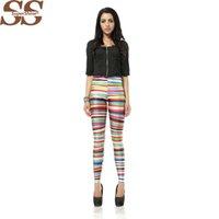 Cheap 2015 Solid Print Punk Rock Female Sport Leggings Legins Pant For Women Women Sport Leggings Trousers Punk Rock Clothing